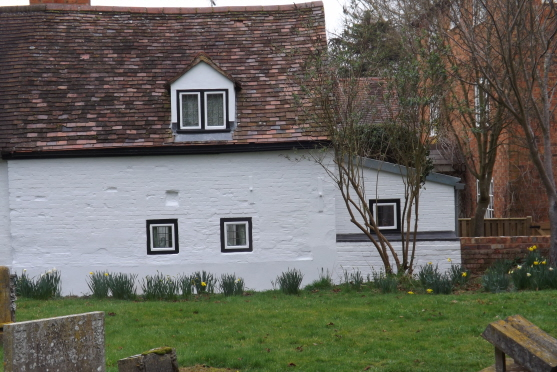 Church Cottage from St Helen's Churchyard